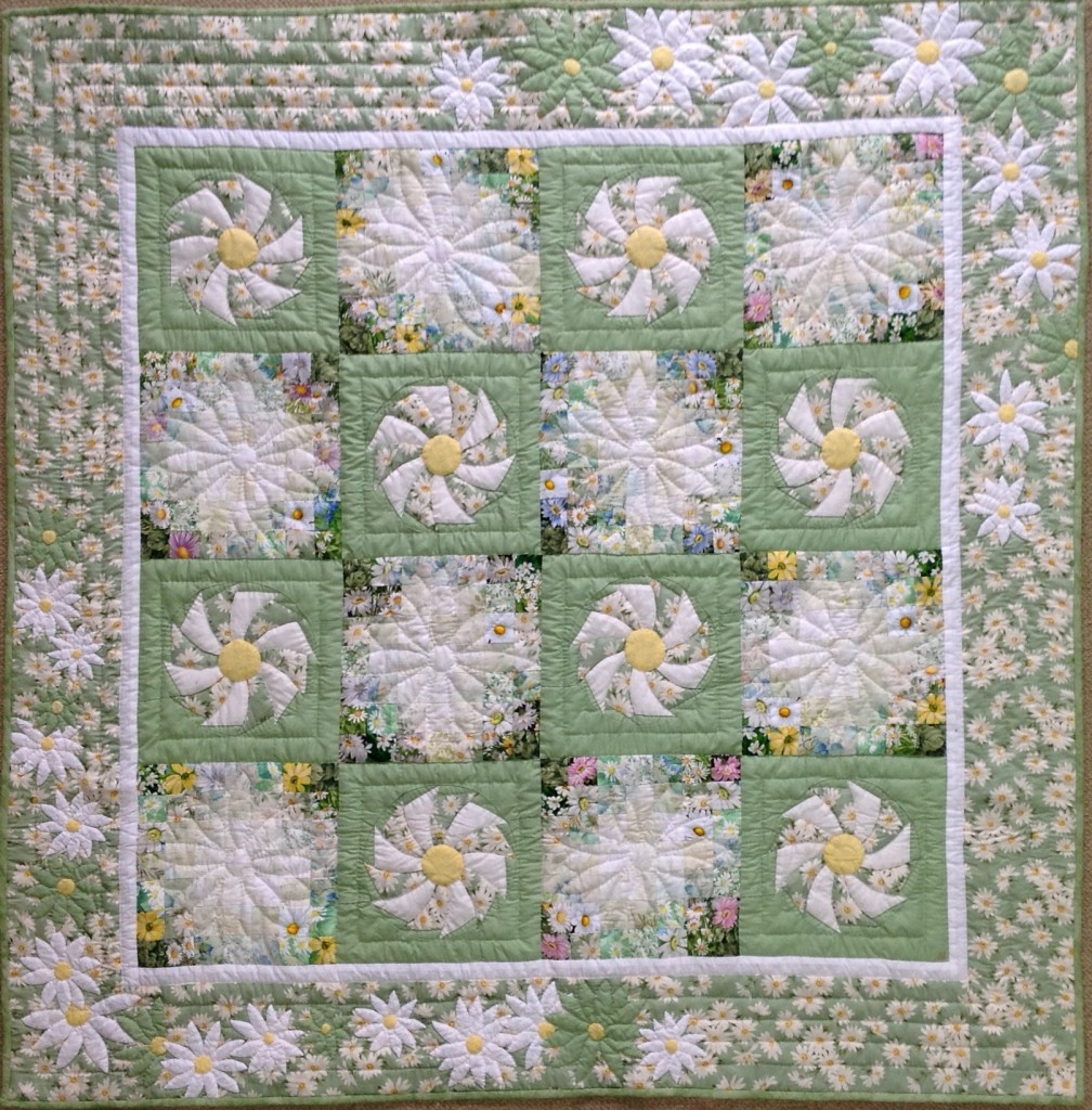 Daisy | Quilt Watercolor