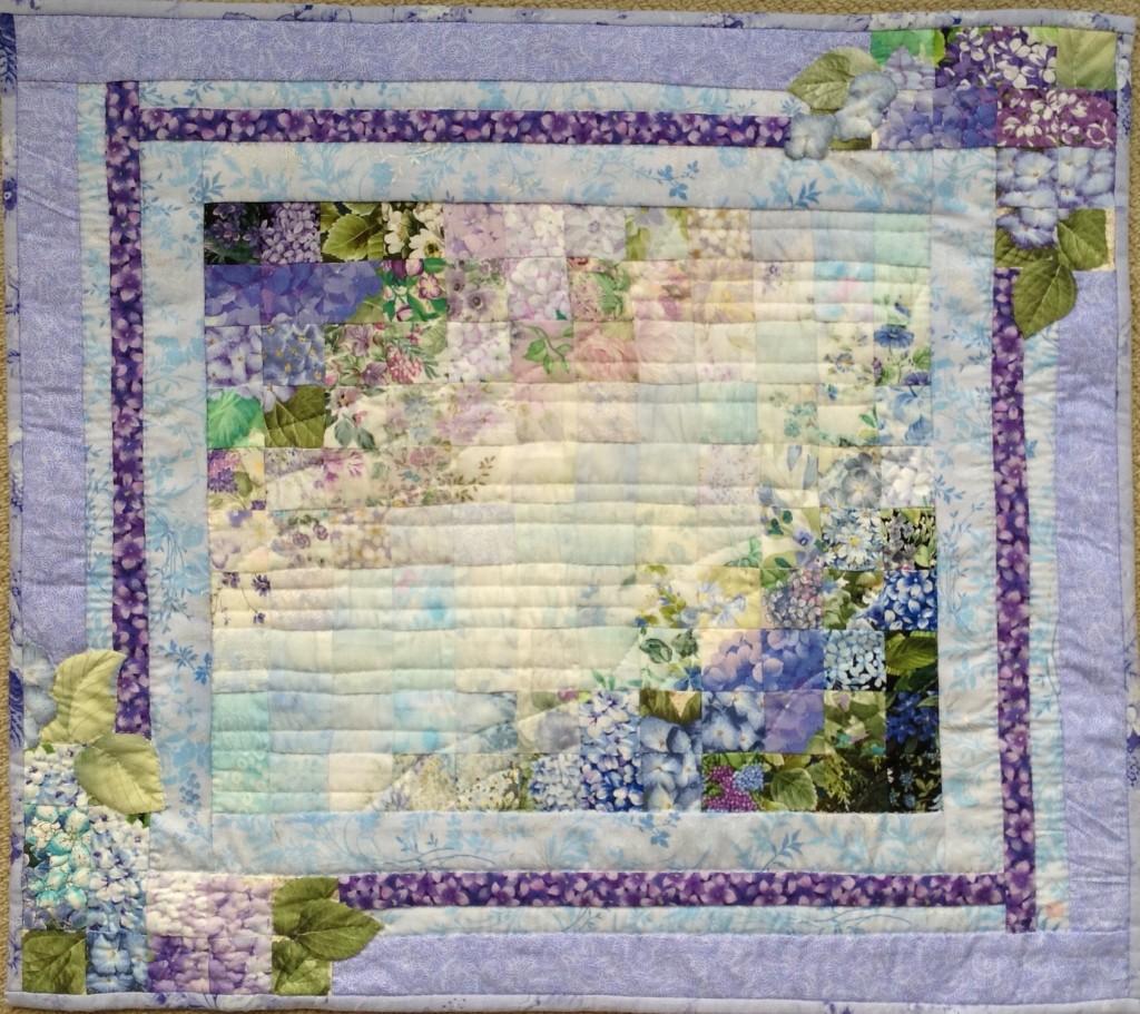 Rainy Season and Hydrangea | Quilt Watercolor