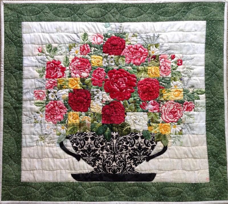 亡き母への思い   Quilt Watercolor