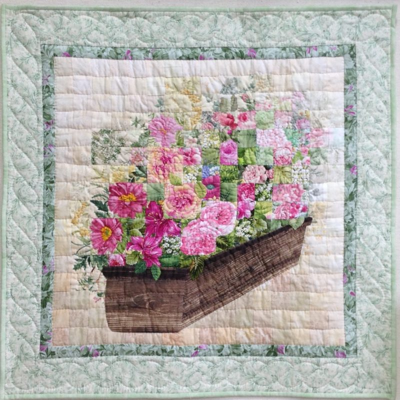 Gardening Season | Quilt Watercolor