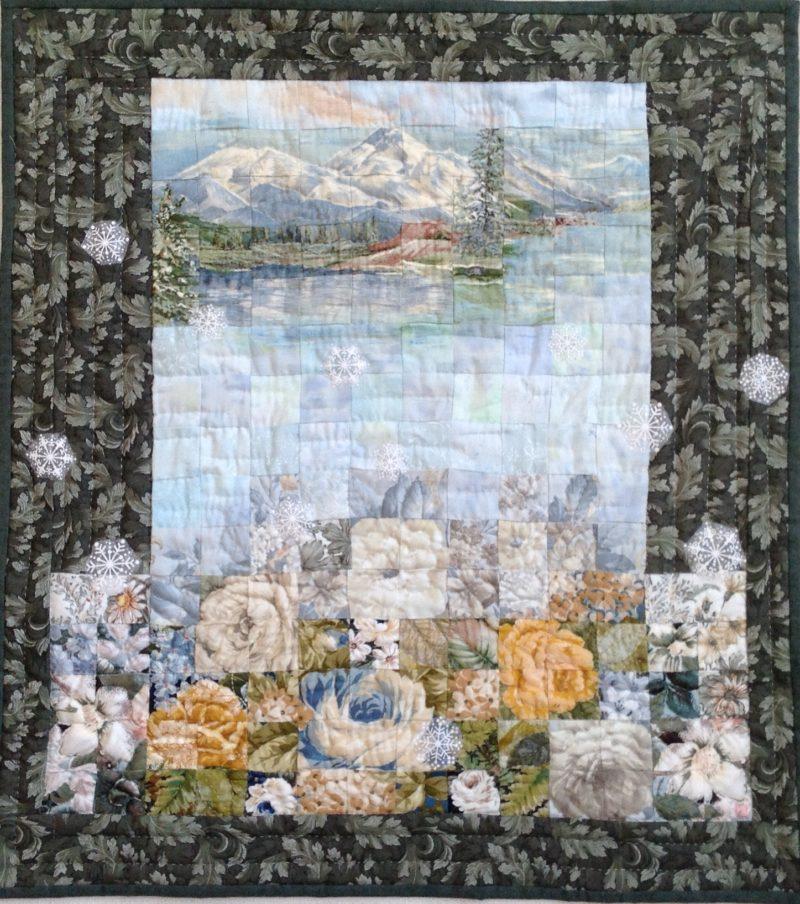 Winter Begins | Quilt Watercolor