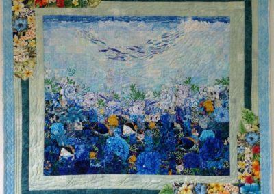 「海の中のお花畑」