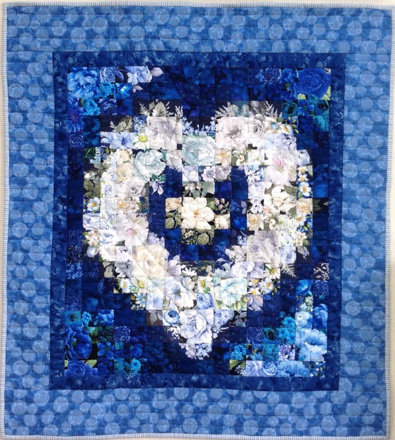 White Heart | Quilt Watercolor