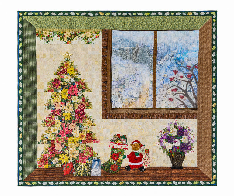 Almost Christmas | Quilt Watercolor