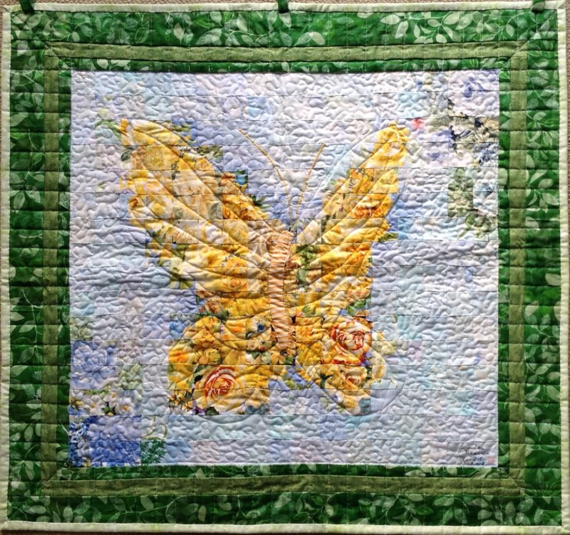 Butterfly | Quilt Watercolor