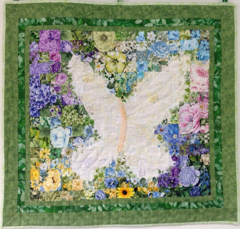 Butterfly Reverse | Quilt Watercolor