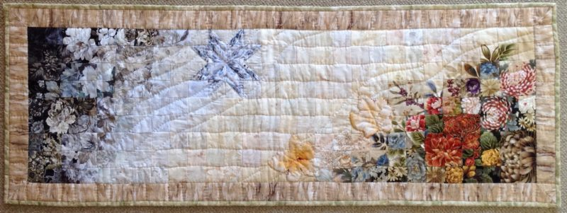 From Autumn to Winter | Quilt Watercolor
