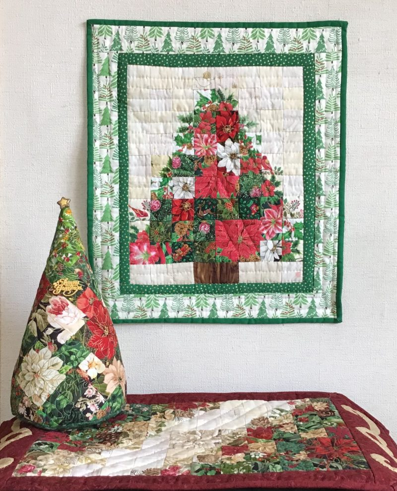 Christmas Tapestry | Quilt Watercolor