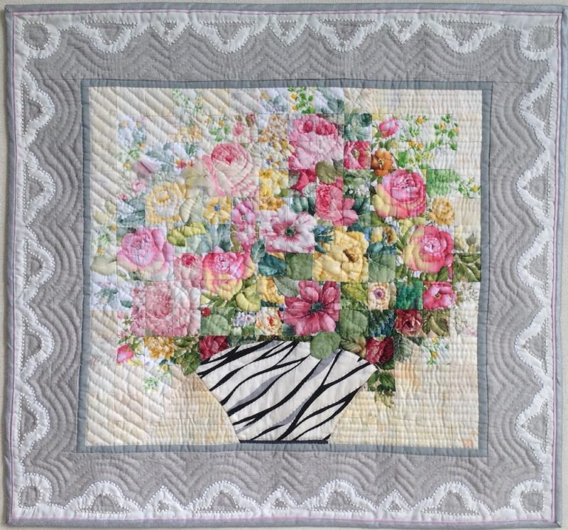 Flower Arrangement for Mom | Quilt Watercolor