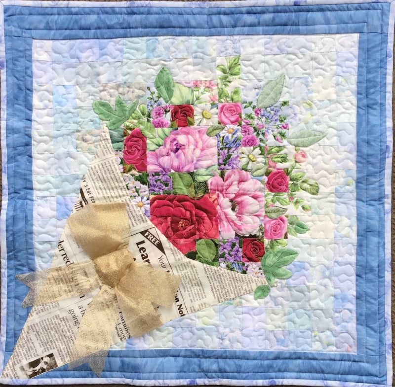 Flower Bouquet | Quilt Watercolor