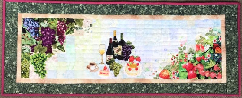 Let's Get Together | Quilt Watercolor