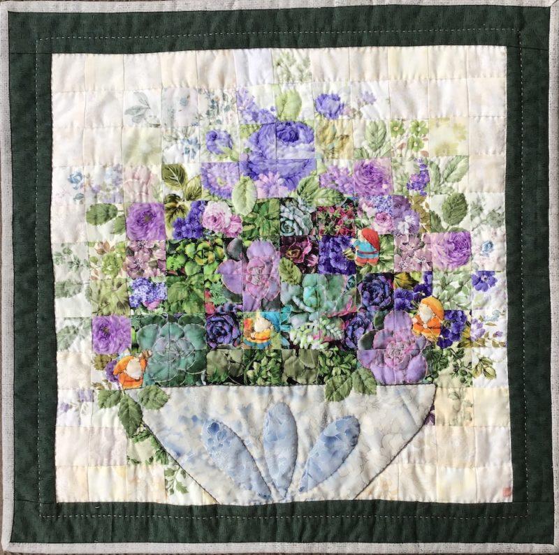 Succulent Plants | Quilt Watercolor