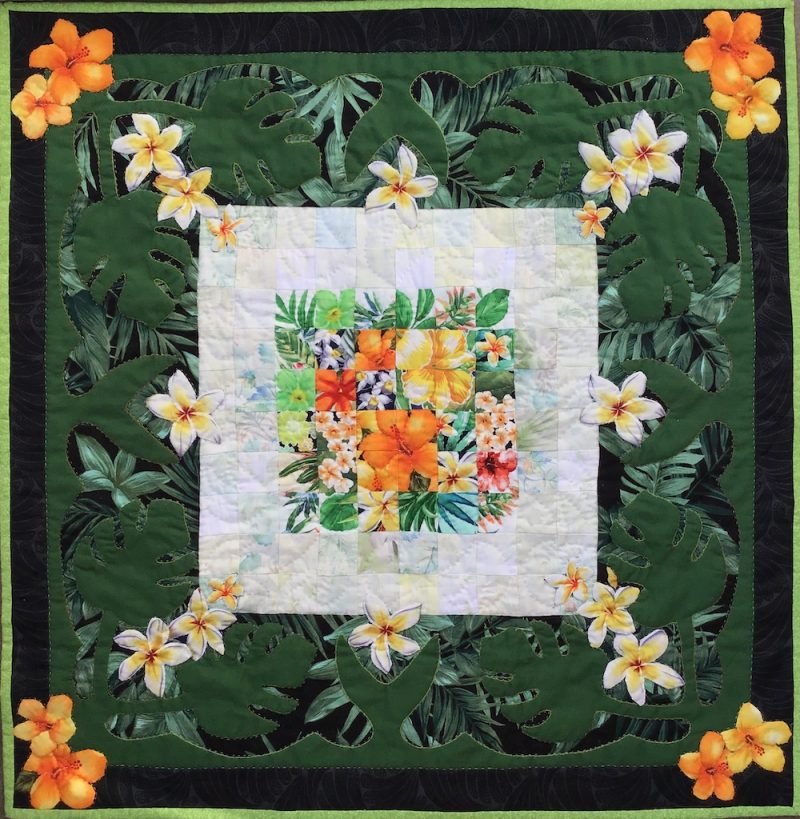 Hawaiian | Quilt Watercolor