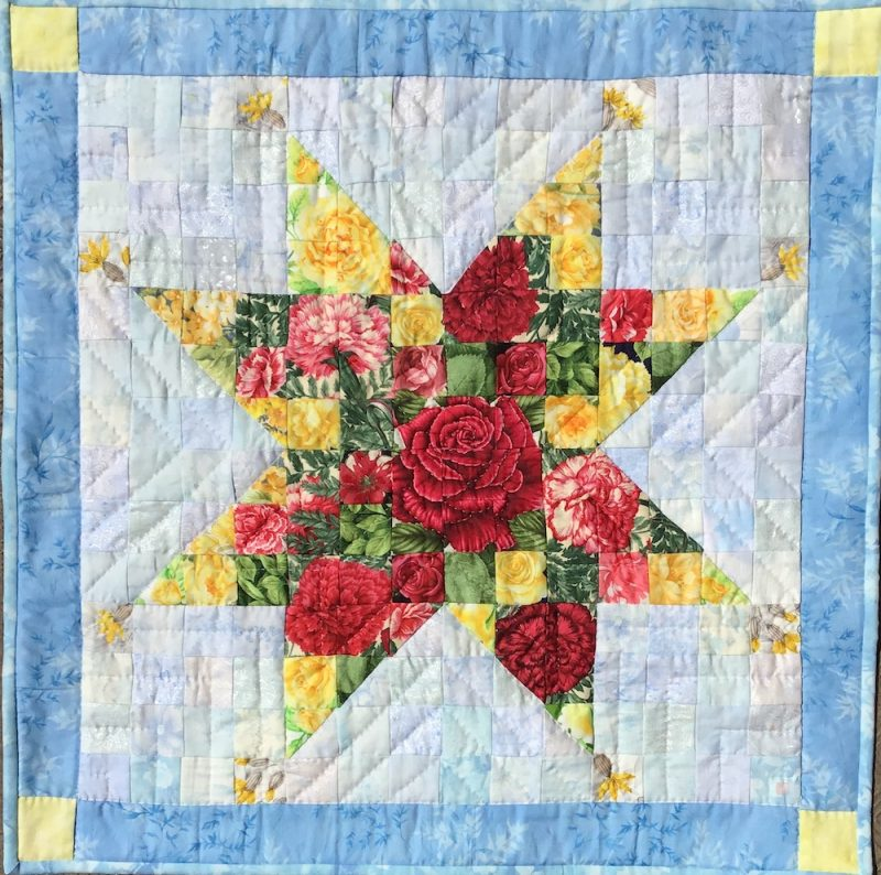 Mom Star | Quilt Watercolor