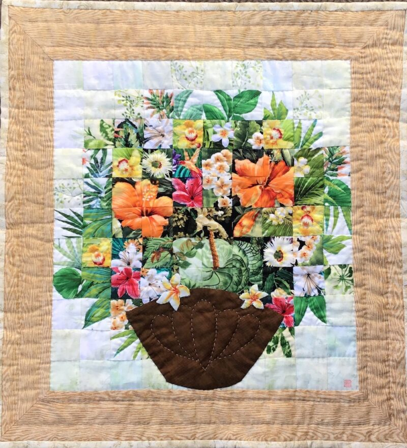 Hawaiian Arrangement | Watercolor Quilt