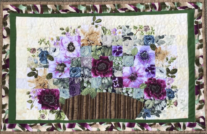Flower Arrangement Fall 2020 | Watercolor Quilt