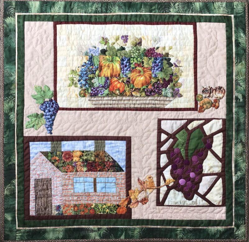 Watercolor Collaboration   Watercolor Quilt